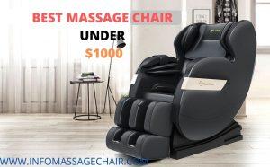 Best Massage Chair Under $1000