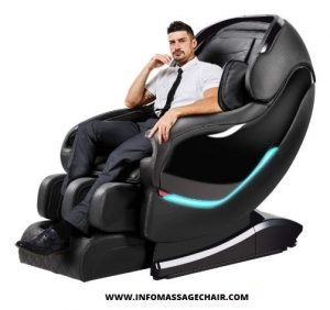 Zero Gravity Full Body Massage Chairs Recliner with SL Double Track, 3D Robot Hands