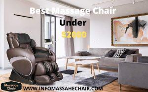 best massage chair under $2000